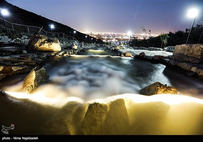 افتتاح پروژه کوهشار، بزرگترین آبشار مصنوعی ایران