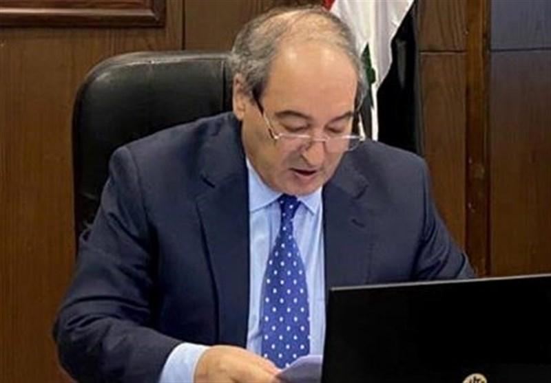 فیصل مقداد: روابط دمشق - تهران یک الگوست