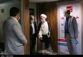 حضور آیت الله دری نجف آبادی در خبرگزاری تسنیم