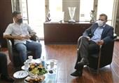 دیدار فغانی با رئیس فدراسیون فوتبال