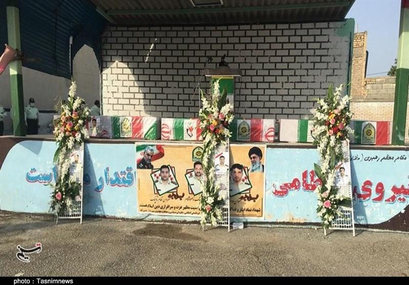 3 شهید مدافع امنیت کرمان تشییع شدند