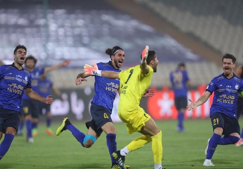 Hazfi Cup Esteghlal Defeats Persepolis on Penalties | Apadana Media