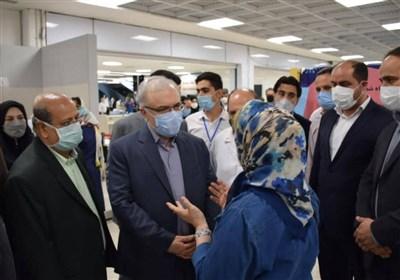 نمکی: سرعت واکسیناسیون کرونا در تهران افزایش مییابد