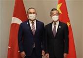 دیدار وزیر خارجه ترکیه با همتایان چینی و سعودی در ازبکستان