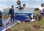 تمامی سرنشینان هواپیمای سبک مسافری روسیه نجات یافتند