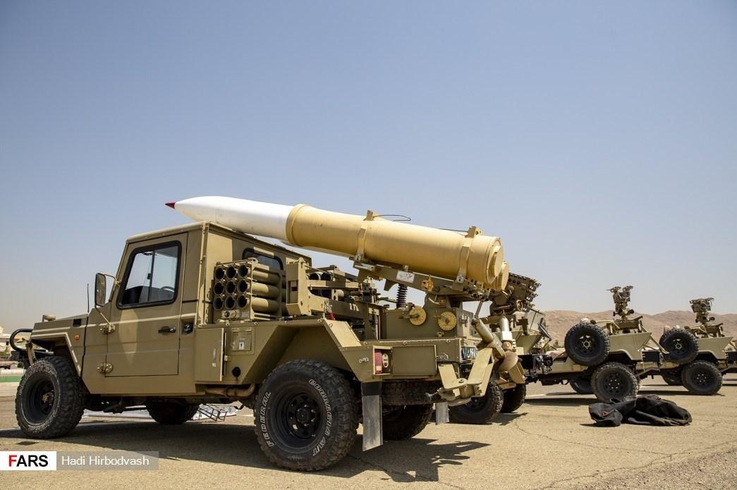 نیروی زمینی سپاه «موشکی» شد
