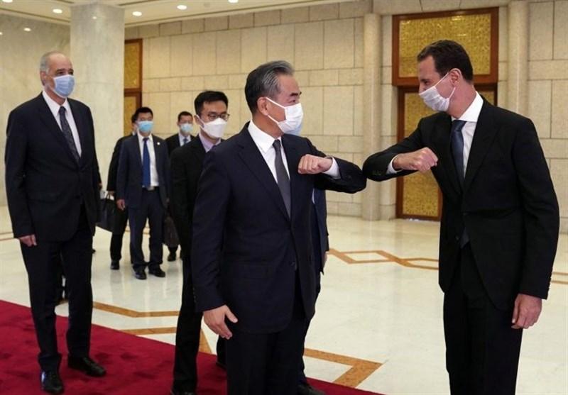 وزیر امور خارجه چین با رئیس جمهور سوریه دیدار کرد