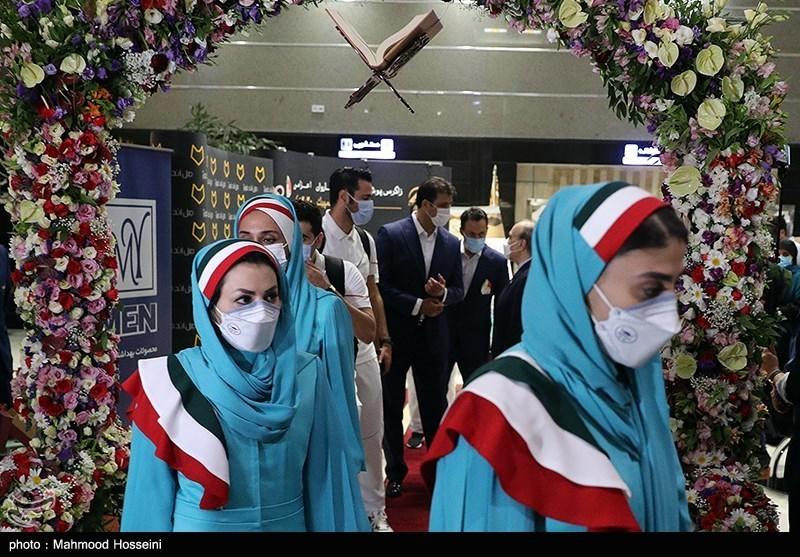 المپیک 2020 توکیو  رژه کاروان ایران با 5 مربی، 18 ورزشکار و لباس رسمی/ حضور بسکتبال و بوکس قطعی شد