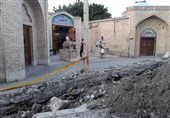 خطر فروریختن رختشویخانه زنجان بهدلیل طولانیشدن پروژه ترمیم ترکیدگی لوله+ فیلم
