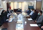 برگزاری جلسه کارگروه VAR در دفتر عزیزی خادم با حضور فغانی