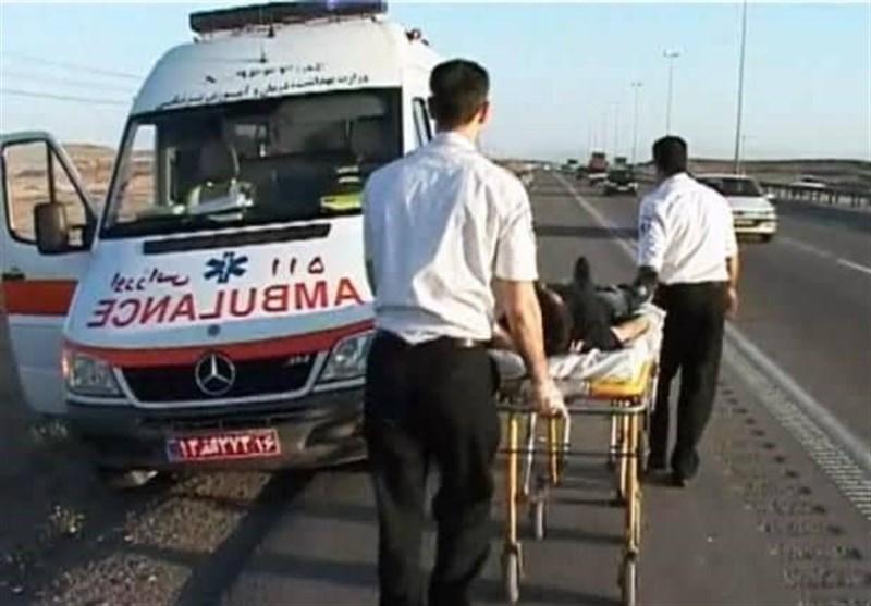 تصادف زنجیره ای در آزادراه کرج- قزوین/برخورد 13 خودرو با اتوبوس یک فوتی برجای گذاشت