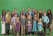 """الگوسازی تلویزیون آمریکا با """"خانواده 19فرزندی!""""+ فیلم"""