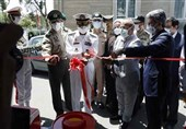 افتتاح مرکز واکسیناسیون کرونا توسط ارتش