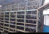 2600 دستگاه استخراج رمز ارز در شهرستان البرز کشف و ضبط شد + تصویر