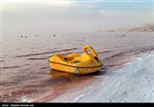 حجم دریاچه ارومیه 2 میلیارد مترمکعب کاهش یافت