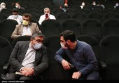 ابوالفضل عمویی عضو کمیسیون امنیت ملی مجلس شورای اسلامی در مراسم رونمایی از مستند «بیست سال»