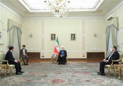 تاکید روحانی بر حق ایران در استفاده از منابع مالی خود در بانکهای کره جنوبی