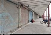 کرونا بازار بندرعباس را به تعطیلی کشاند+تصاویر