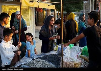 خیابان های آق قلا و خرید برای عید قربان