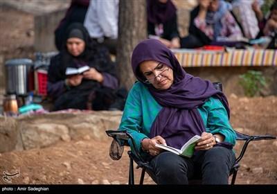 دعای عرفه در جوار قبور مطهر شهدای گمنام -شیراز