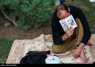 دعای عرفه در گلزار شهدای اصفهان
