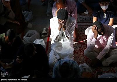 دعای عرفه در حرم حضرت معصومه(س)