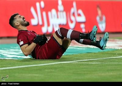دیدار تیمهای فوتبال استقلال و نفت مسجد سلیمان