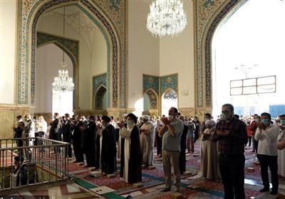 نماز عید قربان در حرم مطهر رضوی اقامه شد