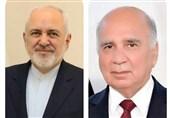 گفتگوی ظریف با وزیر خارجه عراق