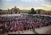 نماز عید قربان در مسجدالنبی(ص) قزوین به روایت تصویر