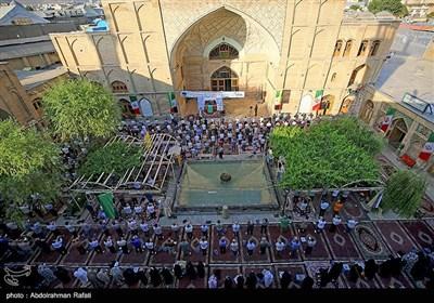 نماز عید سعید قربان در مسجد جامع همدان