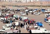 دست فروشندههای غیررسمی در سفره اصناف استان مرکزی+ فیلم