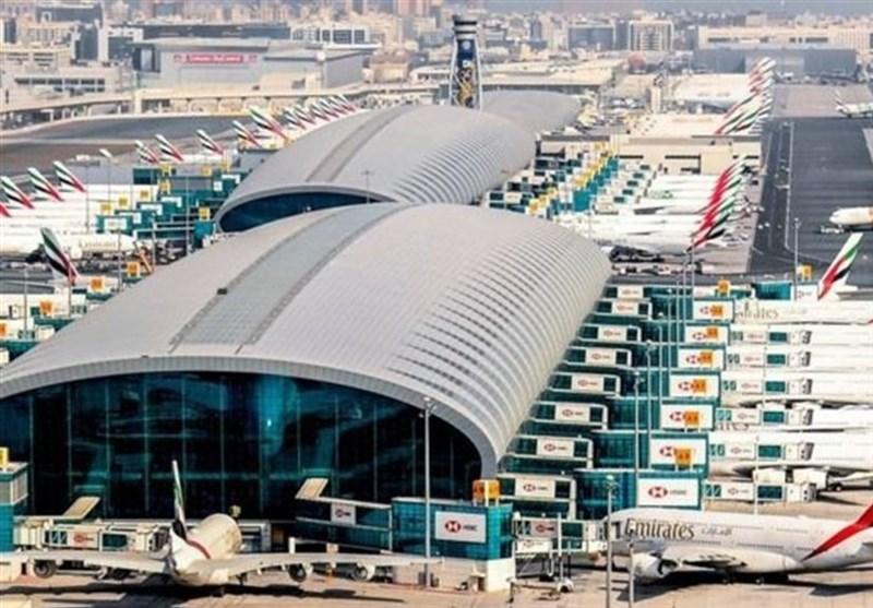 حادثه در فرودگاه دبی