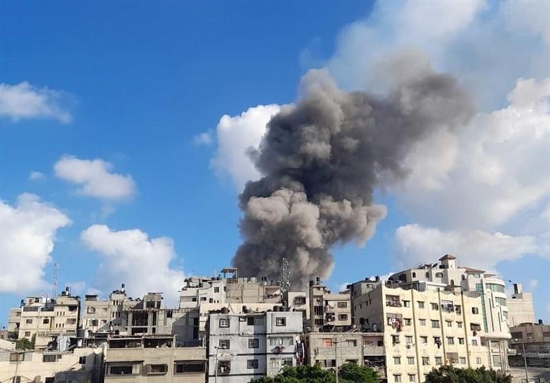 انفجار مهیب در شرق غزه
