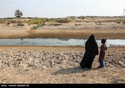 بحران آب در روستاهای شهرستان حمیدیه - خوزستان