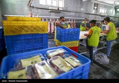 اهدای گوشت قربانی به نیازمندان در گرگان