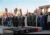 تشییع استاد حوزه علمیه قم در یزد به روایت تصویر