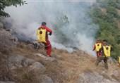 آتش در جنگلهای هیرکانی استان گلستان شعله میکشد/ 11 گروه برای اطفای آتشسوزی اعزام شدند/ هنوز خبری از بالگرد نیست