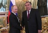 رایزنی تلفنی پوتین و امامعلی رحمان درباره مسائل امنیتی منطقه