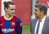 لاپورتا احتمال جدایی گریزمان از بارسلونا را رد نکرد