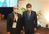 المپیک 2020 توکیو| دیدار سلطانیفر با وزیر ورزش ژاپن