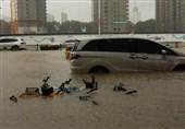 شمار قربانیان سیلاب چین به 51 نفر رسید