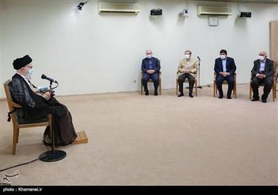 قائد الثورة یتلقى الجرعة الثانیة من لقاح کورونا الایرانی