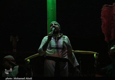 آغاز بهکار سوگواره تعزیه چترود کرمان به روایت تصویر