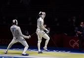 المپیک 2020 توکیو  شادی پاکدامن پس از برتری برابر قهرمان جهان + عکس