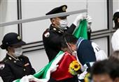 المپیک 2020 توکیو| لحظه به اهتزاز درآمدن پرچم ایران و اهدای مدال طلا به فروغی