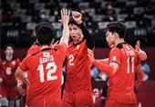 المپیک 2020 توکیو  ژاپن با پیروزی شروع کرد/ والیبال آرژانتین مغلوب روسیه شد