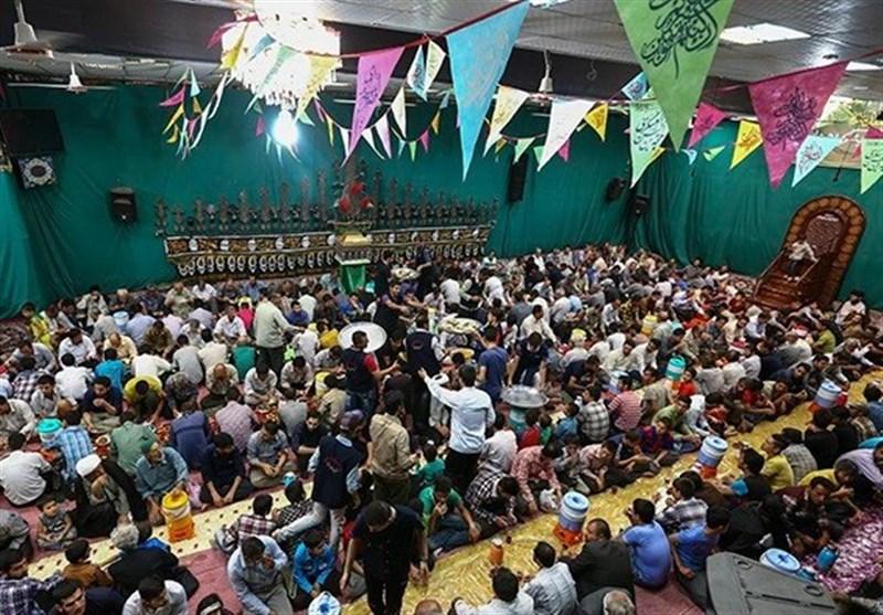 """حسینیهای در قم که """"سفره طعام اهلبیت(ع)"""" هر روز در آن پهن است+عکس"""