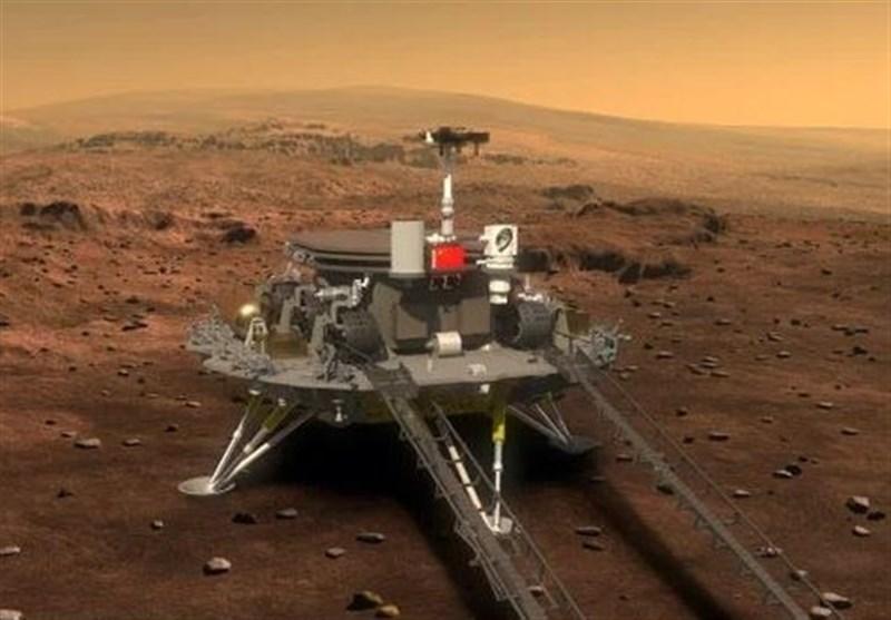 تازهترین تصویر مریخنورد چینی از تپههای شنی کره مریخ