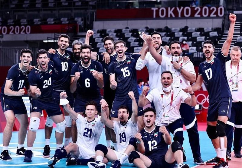 Plucky Iran Beats Poland Volleyball Team at Tokyo 2020